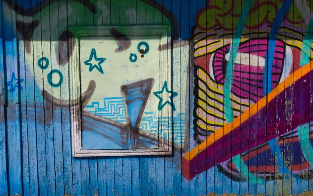 Lidé by se občas nad svými činy měli zamyslet, Odstraňování graffiti Praha
