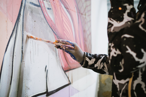 """I graffiti jde bez problému odstranit, ani nemusíte být čaroděj.""""Čištění graffiti Praha"""""""